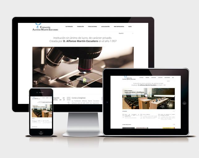 Diseño Página Web Fundame