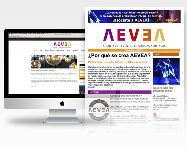 Mantenimiento web + newsletter