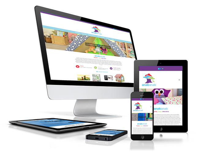 Diseño Página Web y Tienda Online