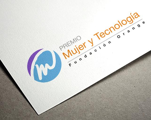 Diseño Logotipo Premio Mujer y Tecnología