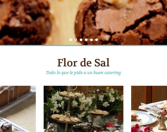 WEB FLORDESALCATERING + SEO