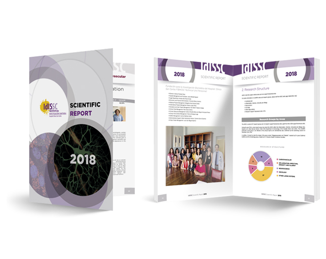 SCIENTIFIC REPORT 2018 Hospital Clínico San Carlos