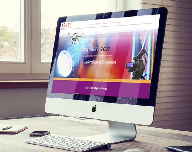 Página Web Anuario AEVEA